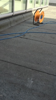flat roof replacement bitumen