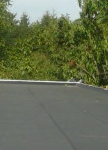 flat roof insulation EPDM roofing