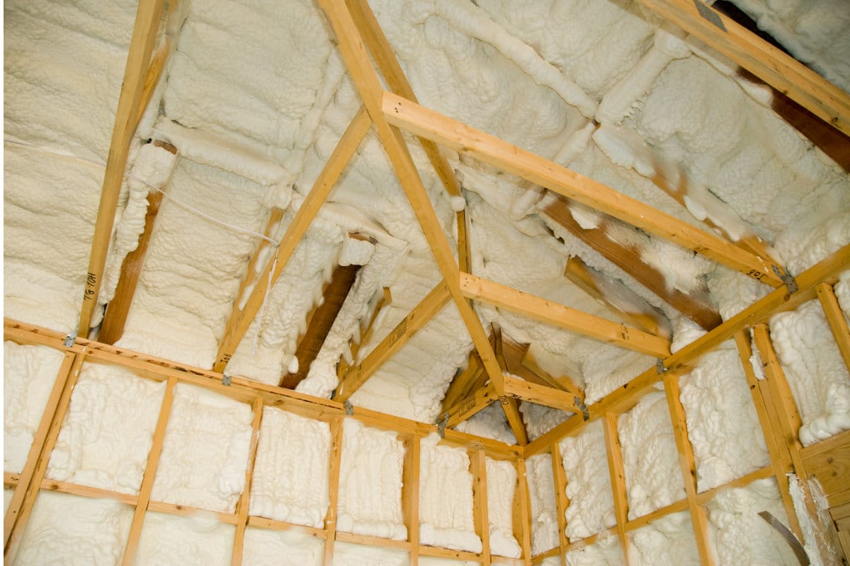 insulate roof with pur