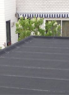 flat roof insulation bitumen roofing