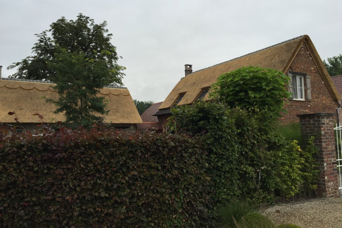 thatched roof ceramic ridge tiles